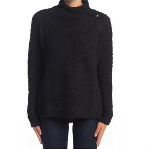 Bobeau Black Textured Cardigan Size Medium NWT